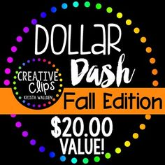 Say hello to your new best friend: The Dollar Dash Fall Bundle!!I love finding…