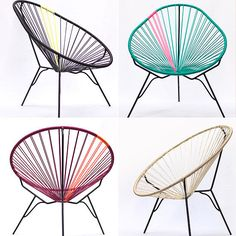 Gallant & Jones Acapulco Chair #coloreveryday