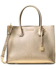 c81aa870c8d5ee Michael Kors Mercer Pebble Leather Tote & Reviews - Handbags & Accessories  - Macy's