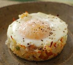 hashbrowns with eggs