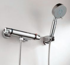 Free shipping chrome ceramics valve core Thermostatic faucet, Shower faucet Thermostatic mixer,Mixing valve shower TV002