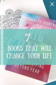 I'm sharing my top 7 personal development books! These books have had a HUGE