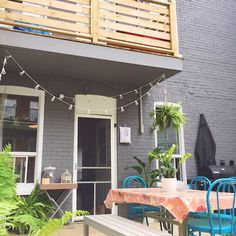 My urban backyard makeover // Ma cour : AVANT/APRÈS | À la mode Montréal