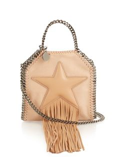 facaffa9f0b7 STELLA MCCARTNEY Falabella Tiny Faux-Leather Cross-Body Bag.   stellamccartney  bags  shoulder bags  hand bags  suede  lining