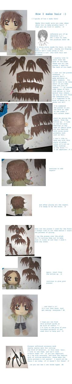 Plushie hair guide pt. 1 by ~ichigo-pan43 on deviantART