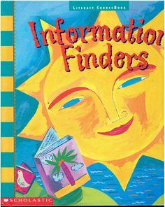 Information Finders Literacy Sourcebook Literacy-at-Work Grade 1 isbn 0590491180 0590547682 LA2