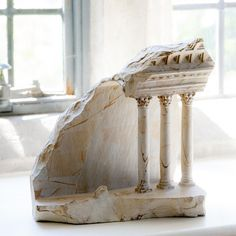 Miniature Architecture Carved in Stone by Matthew Simmonds 4