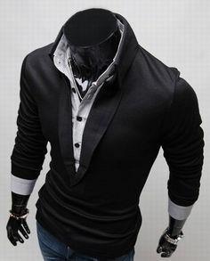 Formal V Dress Shirt