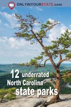 Travel   North Carolina   State Parks   Underrated   Hidden Gems   Outdoor   Adventure