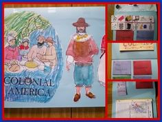 We have spent over a month on what Winter Promise scheduled for just two weeks — Colonial America. Here are some images of Sprite's completed lapbook. At the back, we added notebooking pages into the lapbook. Social Studies Notebook, 5th Grade Social Studies, Social Studies Activities, Teaching Social Studies, Teaching History, History Education, American History Lessons, World History Lessons, 13 Colonies Map