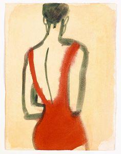 Mats Gustafson's Eye for Beauty, on Paper and in Print Mats Gustafson, Art Inspo, Eye For Beauty, Art Et Illustration, Art Graphique, Art Design, Art Plastique, Painting & Drawing, Illustrators