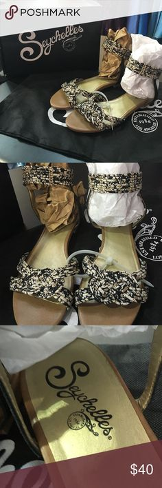 Seychelles gladiator sandals size 10 Includes box and dust bag! Good condition! Women's size 10 Seychelles Shoes Sandals