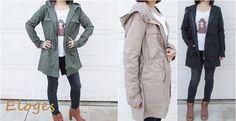 High quality cargo utility Angelina jacket | Jane