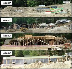 Building an Earthship... I guess if you have enough friends you can get the shell done in 3 weeks... cool