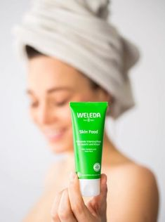 Weleda, a natural skincare line available through the Beauty / Skincare section at Kolya Naturals, an online natural skincare boutique that carries the best of what nature has to offer. Natural Skin Care, Natural Beauty, Weleda Skin Food, Dry Lips, Frizzy Hair, Body Butter, Beauty Secrets, Personal Care, Cream