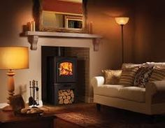 Image result for stoves in living rooms