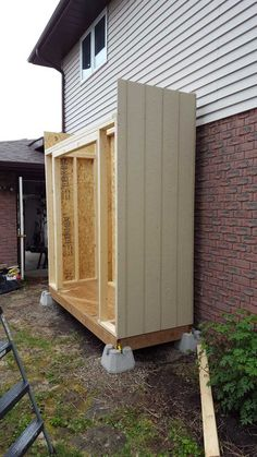 Pergola For Sale Cheap Diy Storage Shed, Backyard Storage, Backyard Sheds, Outdoor Sheds, Outside Storage Shed, Backyard Chairs, Outdoor Storage, Diy Shed Plans, Lean To Shed Plans
