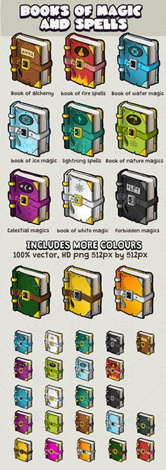 Books of magic alchemy and spells has just been added to GameDev Market! Check it out: http://ift.tt/1GuQfNi #gamedev #indiedev