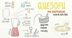 Quesofu Queso de tofu #vegan #recipes