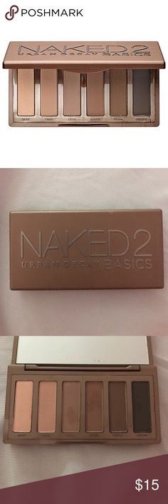 UD Naked 2 Basics Palette Very light use, does not come with box Urban Decay Makeup Eyeshadow