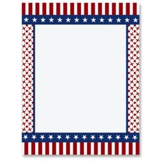 Red, White and Patriotic Letter Paper from Idea Art Patriotic Crafts, Patriotic Party, Independence Day July 4, Paper Car, Scrapbook Frames, 4th Of July, Symbols, Letters, Red
