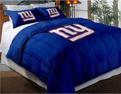 Beautiful New York Giants Bedding. I Doubt My Wife Would Ever Let Me Decorate Our Bed