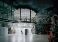 Cave Office - Sweden 1