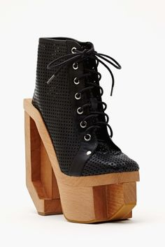 Alia Platform Boot - Black