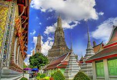 Wat Arun Rajwararam (The Temple of the Dawn)  in Bangkok Thailand