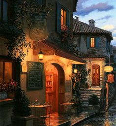 """Magic Evening"" by Evgeny Lushpin"