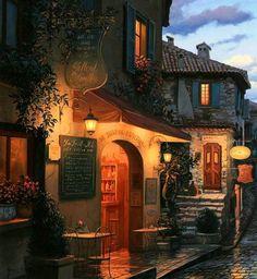 """Magic Evening"" by Eugene Lushpin"