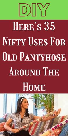 When our pantyhoses are no longer wearable, we often don't give a second thought to throwing them away. #35 #NiftyUses #Pantyhose Pimple Solution, Toffee Cake, Baby Snowsuit, Ginger Water, Kitchen Confidential, Choco Chips, Running Watch, Avocado Smoothie, Hairbrush