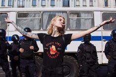 Fair elections protest in Saint Petersburg Russian Rap, Dark City, Riot Grrrl, Renaissance Paintings, Feminist Art, Renaissance Fashion, Russian Fashion, In This World, Artists