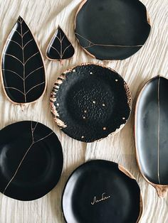 Diy Tableware, Pottery Houses, Ceramic Clay, Pie Dish, Home Textile, Coasters, Barware, Meal, Leaves