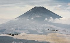 The United States Air Force has had a strong presence in Japan since the service's founding. Today, USAF operations are centralized among three major air bases in that country: Misawa Air Base in the northern Japan, Yokota Air Base in central Japan, and the sprawling Kadena Air Base on the southern Japanese island of Okinawa.
