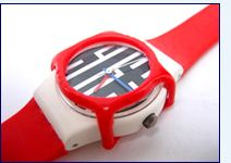 Swatch Watch with Guard - I had so many of these things!!  LOVED THEM as only an 80s teenager could.