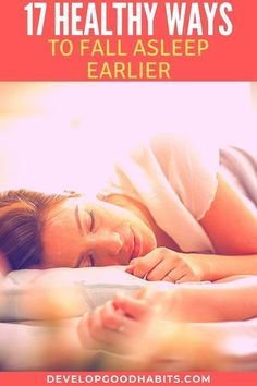 17 Healthy Ways To Fall Asleep Earlier | Healthy lifestyle tips for better sleep habits. Health Benefits Of Cherries, Health Benefits Of Ginger, Health And Wellbeing, Women's Health, Mental Health, Health Care, Medical Esthetician, Ways To Fall Asleep, Medical Transcriptionist