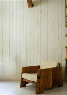 Scrapwood wallpaper 08 Create a distressed wood plank surface.