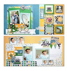 Simple Stories - Charmed Life Collection - 12 x 12 Layout Class Kit at Scrapbook.com