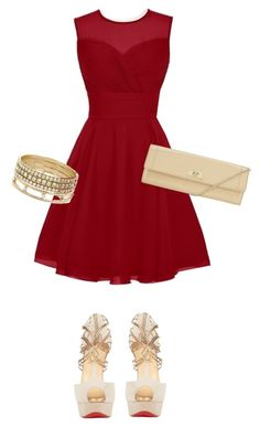 """Bez naslova #355"" by shawty696 ❤ liked on Polyvore featuring Christian Louboutin, John Lewis and BCBGeneration"