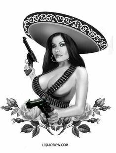 INCREÍBLE BELLEZA MEXICANA MORENA