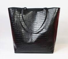 Nordic Shopping Black Croco