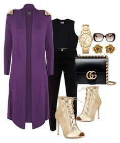 """Today's LOTD 9/21"" by church-fashion on Polyvore featuring Ted Baker, WearAll, Gianvito Rossi, Gucci, Oscar de la Renta, Michael Kors and plus size clothing"