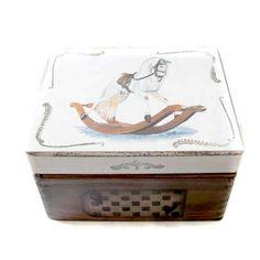 Konik na biegunach pudełko dla dzieci