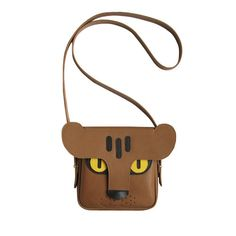 Handmade leather Panther bag animal bag tiger panther by LaLisette, $109.00