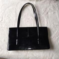 Black Patent Leather Purse By Alfani Black Patent Leather, Leather Purses,  Shoulder Bags, 745c506567