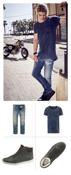 Cooler Style für Männer. Besonders die G-Star Straight Jeans hat es uns angetan.