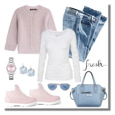 """""""casual wear"""" by gallant81 ❤ liked on Polyvore featuring Boohoo, IRIS VON ARNIM, Fat Face, Nine West, Emporio Armani, Kate Spade, Oliver Peoples, women's clothing, women and female"""