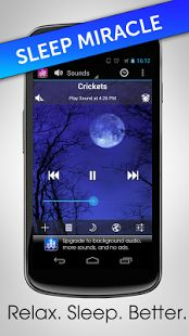 Features ambient sounds of the environment that will help you relax during the day and sleep great at night.