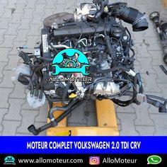 Moteur complet Volkswagen 2.0 TDI CRV 🔵12.000 Kms certifiés 🔵Référence moteur CRV 🔵Compatible Audi , Seat , Skoda 🔵Livré complet sans boîte de vitesses 🔵Garantie 6 mois
